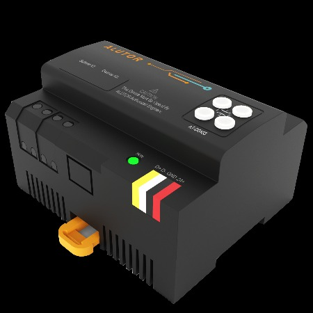 阿尔尤特 智能照明控制系统 AT-D0403 智能调光模块 智能照明调光模块 直销