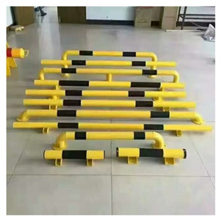 停车场挡车器 车轮定位器 钢管停车器 阻车桩 U型挡车杆 新手司机阻车器