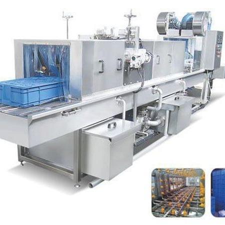 供应洗筐机生产厂家  喷淋式洗筐机  价格优惠的不锈钢洗筐机