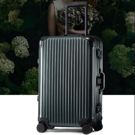 全铝镁合金行李箱女24寸商务密码箱子万向轮20旅行箱拉杆箱