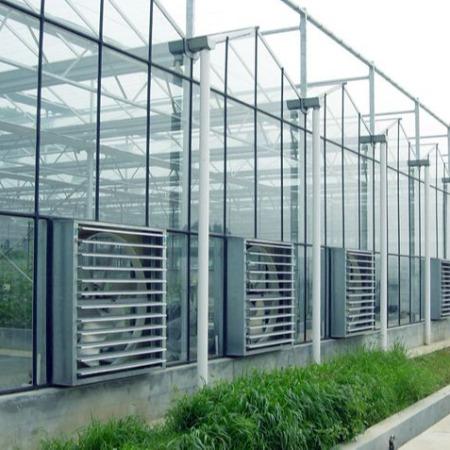 连栋玻璃温室大棚定工程_智能温室大棚_安装建设_明远农业科技