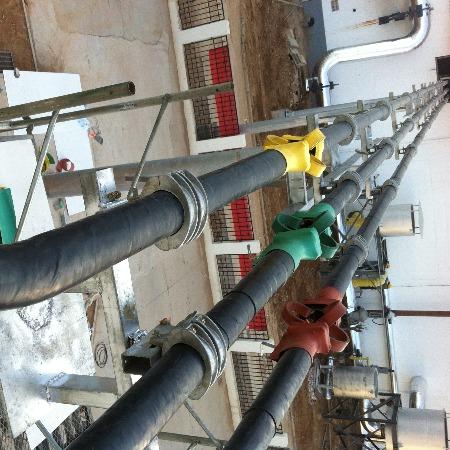 天晟达厂家批发高压管型母线槽 10KV管形母线槽 铝合金管母线