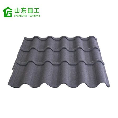 供應彩石金屬瓦廠家 經典型彩石瓦價格 平改坡防水隔熱瓦