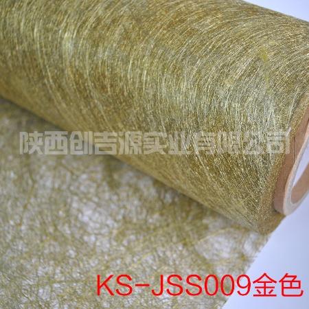创吉源夹丝玻璃材料厂家 金属丝绢布材料 适用于钢化玻璃亚克力夹层材料