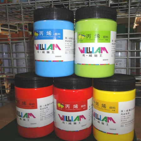 上海鹰伦300毫升丙烯颜料批发环保材料用途广泛