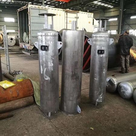 长利机械  吹管消声器  吹管消音器  排汽消声器  锅炉升火消音器