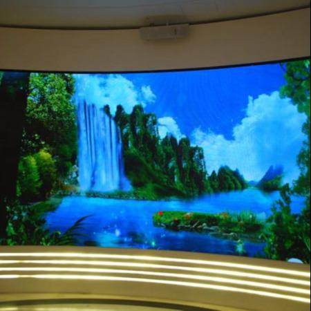 成都LED瀑布屏-LED透明屏-互动显示屏旅游景区3D5D9D 成都订购景区显示屏