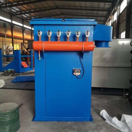 荣信厂家供应 袋式除尘器 工业粉尘颗粒小型单机脉冲袋式除尘器