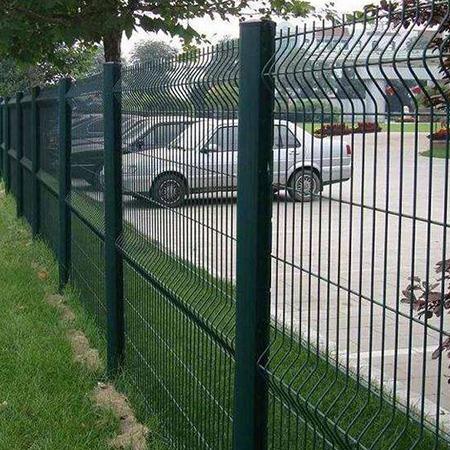 双边丝护栏网 道路隔离 框架护栏网 护栏网