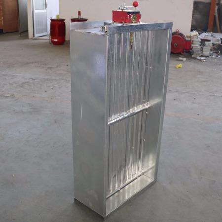 同创定制280度排烟防火阀地下车库风管70度防火阀电动手动方圆风量调节阀