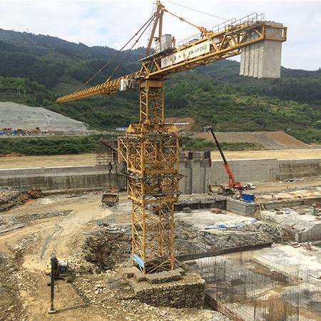甘肃三洋K80/115塔吊出租公司 青海塔吊出租费用价格 机械设备租赁