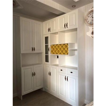 全实木餐边柜餐厅家具实木酒柜现代简约储物柜茶水柜边柜