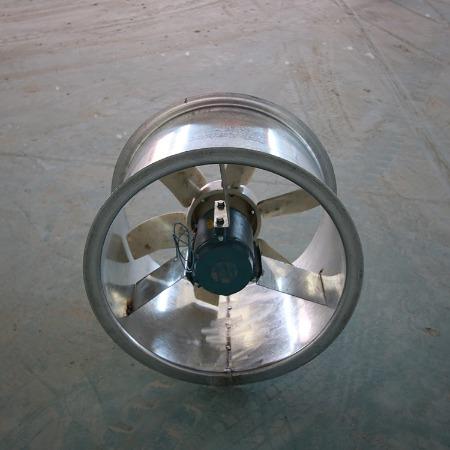 圆形轴流风机 T35系列轴流风机 管道式轴流风机