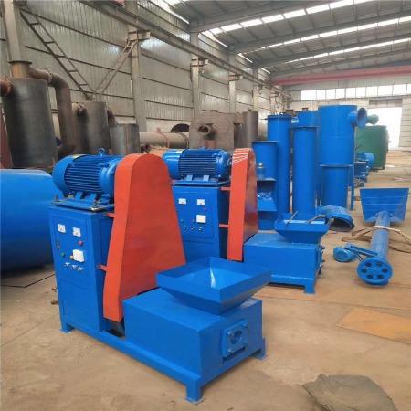 酒糟废纸浆制棒机 生活垃圾机制木炭机成套设备 环保锯末制碳机