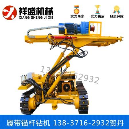 锚杆钻机 基坑支护履带式锚杆钻机 电动打土锚固钻机移动式