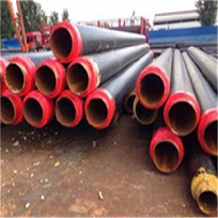 预制直埋保温管 聚氨酯直埋保温管 直埋保温管 洲际重工专业生产