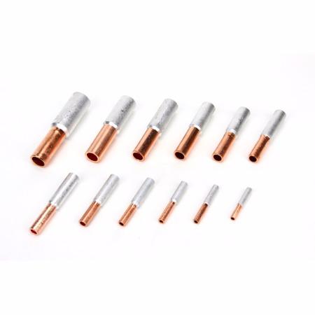 电力金具铝接续管 铜铝接续管GTL10-150平方 铜铝件厂家