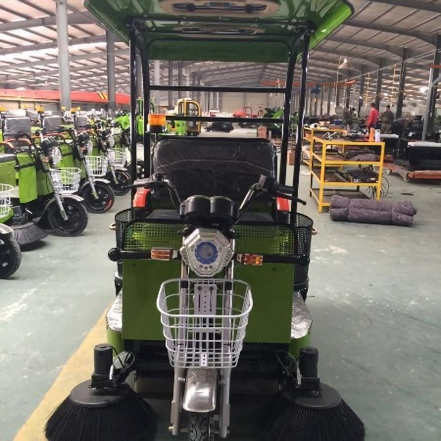 JBL/金百力 2019新款1.5m三轮扫地车带蓬 工程扫地车 物业扫地车 全自动扫地车价格