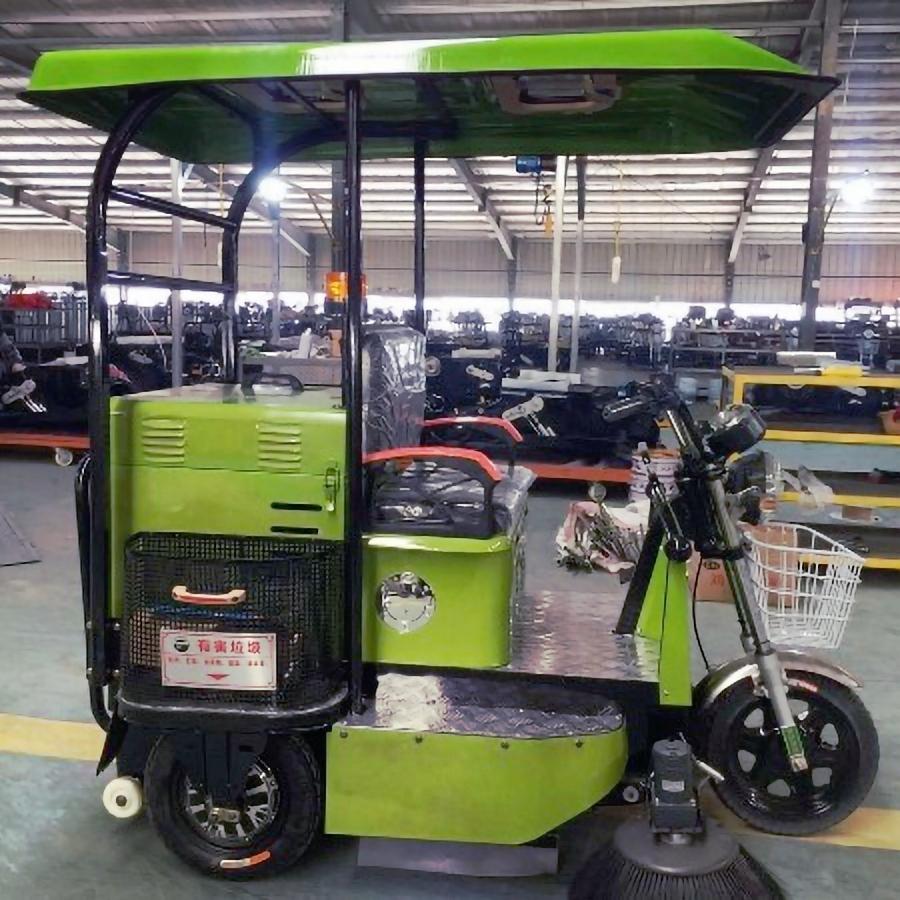 JBL/金百力 2019新款1.5m三轮扫地车带蓬 街道扫地车 车间用扫地车 公路清洗车 工厂直销