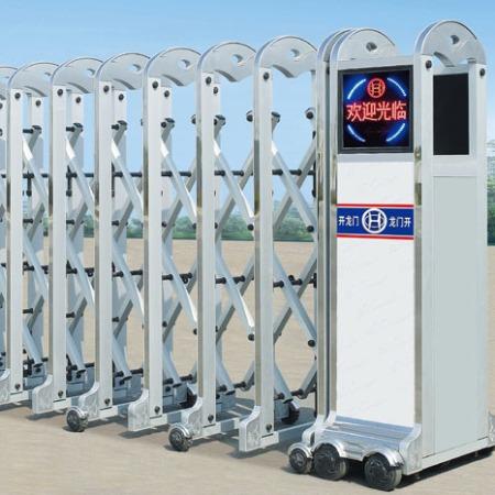 北京华夏源龙 伸缩门 电动伸缩门生产厂家 可按需定制