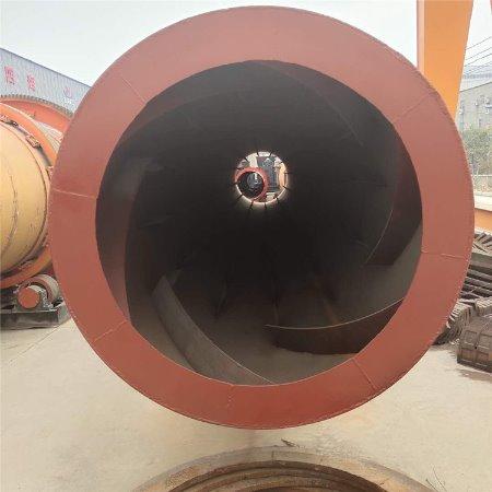 三筒工业矿渣污泥烘干机 煤泥烘干机厂家 回转滚筒干燥设备