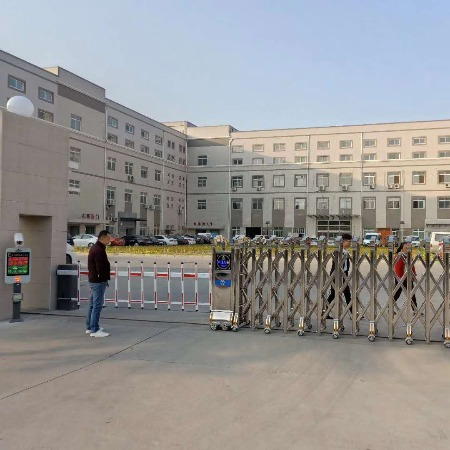 华夏源龙 北京厂家安装电动门 伸缩门 专业生产电动伸缩门厂家