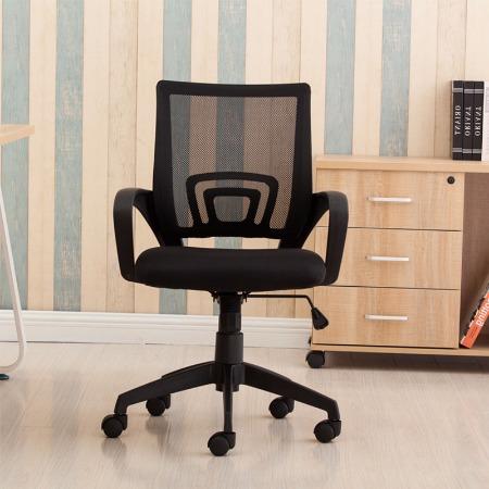 福州家用电脑椅办公椅子职员椅网布转椅会议椅升降学生宿舍椅现代简约