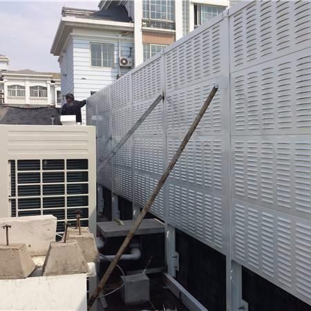 空调机组隔音墙,空调机组隔声屏障,空调机组吸声屏障,中央空调声屏障