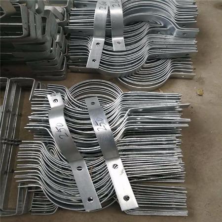 福州抱箍 杆用紧固件  电力金具 配件绝缘子 光缆金具 富华电力