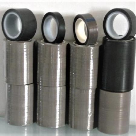 生产长时间耐温260度特氟龙纯膜胶带, 颜色(黑,白,灰)