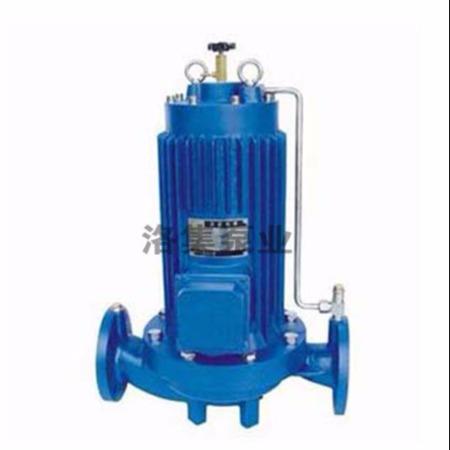 上海洛集泵业SPG型式屏蔽管道泵厂家直销现货供应终身维修