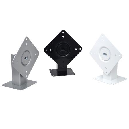 泰如工厂直销平板支架 360°旋转桌面固定VESA防盗平板支架 非零售批量现货接受定制