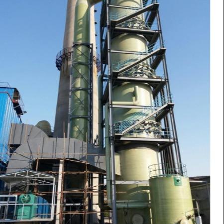 专业生产 定制脱硫塔 脱硝塔 工业除尘净化设备 脱硫脱硝除尘设备