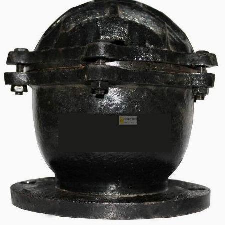 H42X铸铁底阀 法兰底阀 水力控制阀