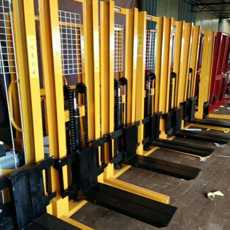厂家直销 诺犇 液压装卸车液压堆高车插电式升高车手动液压堆高车/,