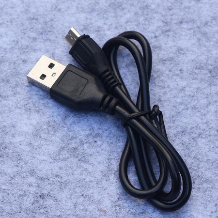 迈克充电线 50厘米黑色安卓充电线  应急灯2A充电线 v8充电线