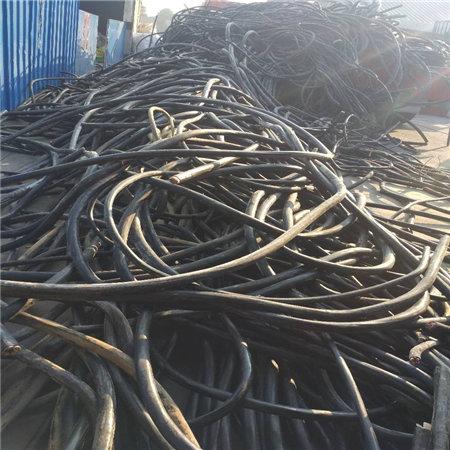 舟山废旧电缆回收拆除-湖州300电缆线回收