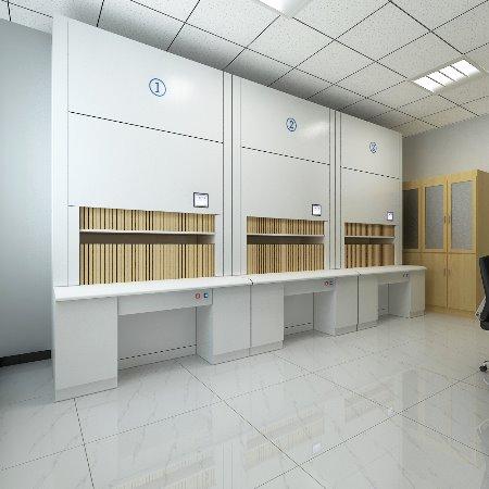 回转柜容量?智能档案回转柜提升30%存储空间-虎恒智能