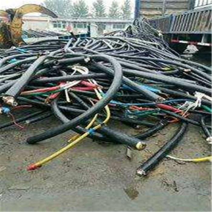 赞皇起帆废旧电缆线回收,回收二手动力电缆线公司