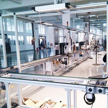 定制防静电自动化流水线就选南京翰廷博世皮带线10年无修