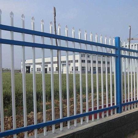 厂家直销 学校锌钢护栏现货 家用围墙护栏 危险重地护栏 多钱一米 质量保证