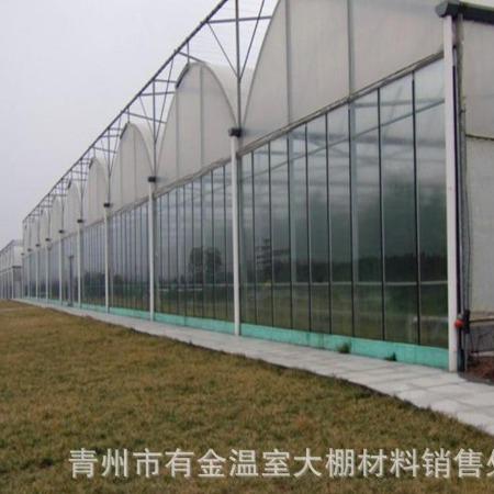 智能温室工程建设玻璃温室玻璃大棚日光大棚 连栋玻璃温室厂家