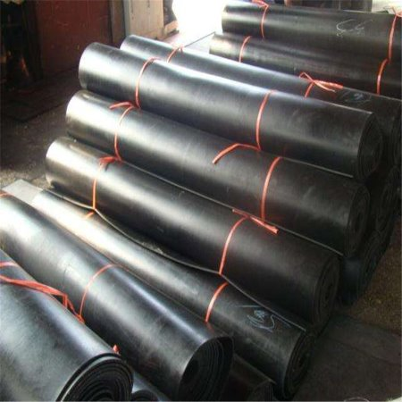 黑色耐高压橡胶板 黑色绝缘板 布纹耐磨超高板