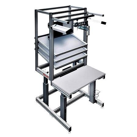 自动化流水线专用人工装配平台