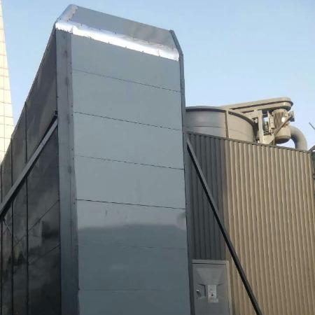 水冷却塔声屏障 冷却塔声屏障 楼顶机器声屏障 声屏障生产厂家