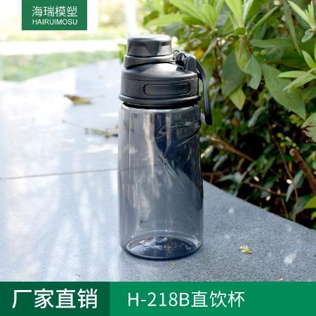 H-218B户外运动水杯 TRITAN环保水壶 塑料直饮杯大容量 批发