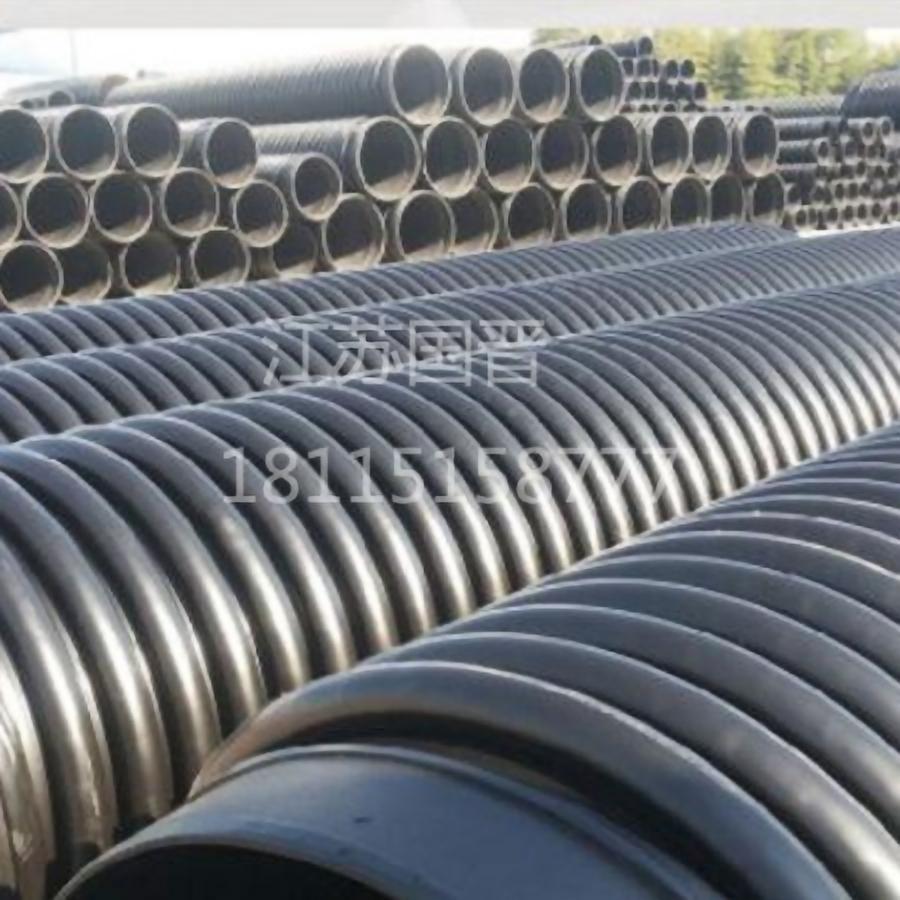 HDPE克拉管价格  hdpe城市排污管克专业设备生产厂家
