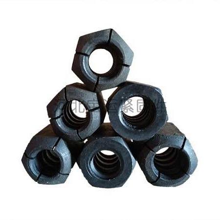 M32精轧螺母厂家直销 精轧螺纹钢锥面锚具大量批发 保质保量