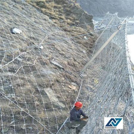 斯登诺 被动型 主动型 环型边坡防护网批发 单项边坡防护网设计要求