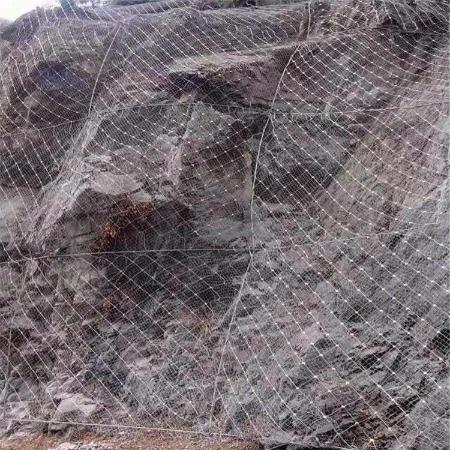 厂家直销边坡防护网主动防护网 钢丝绳格栅网多功能被动防护网